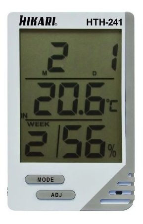 Termo-higrômetro Digital Hikari Hth-241