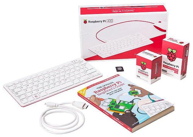 Raspberry pi 400 - Computador pessoal portátil e completo
