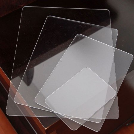Kit de Gabaritos em Acrílico Transparente para Dobras