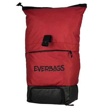 Mochila Térmica Fitness Big Bag Vermelho Everbags