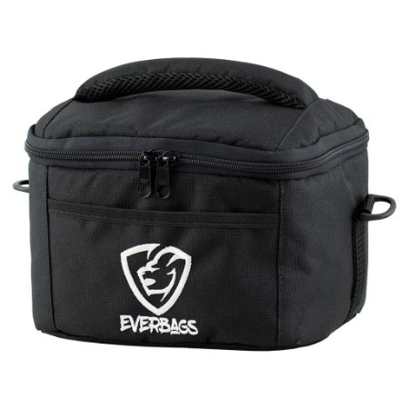Bolsa Térmica Fit Lancheira - Black White
