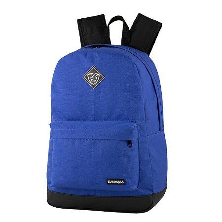 Mochila School Azul Royal