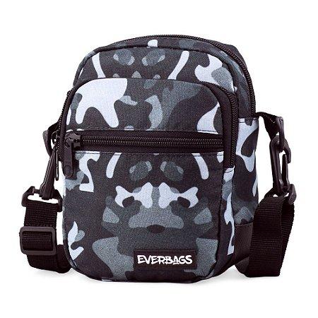 Shoulder Bag Camuflada Cinza Mini Everbags