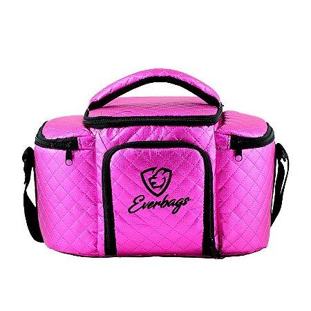 Bolsa Térmica Top - Matelassê Pink