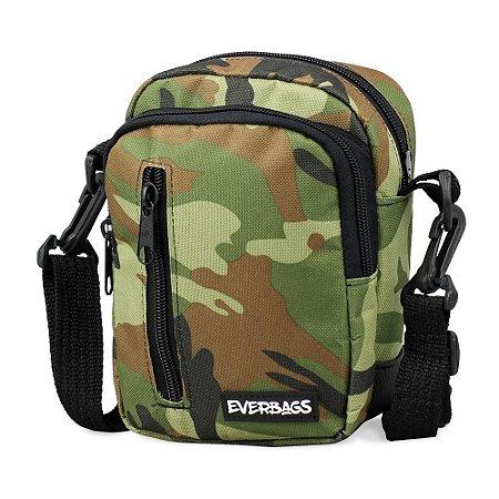 Shoulder Bag Camuflada zíper