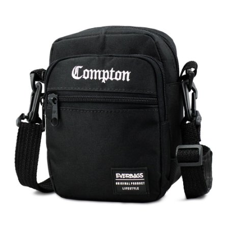 Shoulder Bag Black Compton Everbags