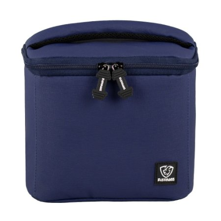 Bolsa Térmica Fitness Lancheira Lunch Bag Azul Everbags