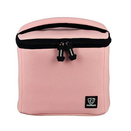 Bolsa Térmica Fitness Lancheira Lunch Bag Rosa Everbags