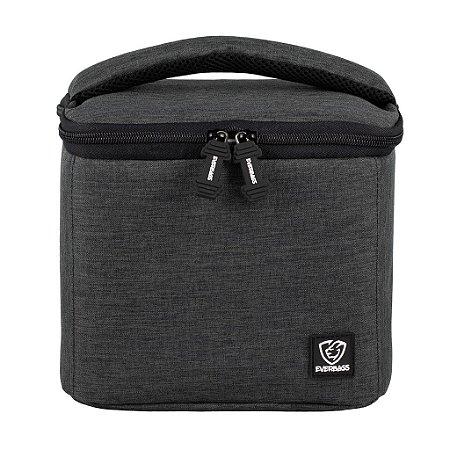 Bolsa Térmica Fitness Lancheira Lunch Bag Chumbo Everbags