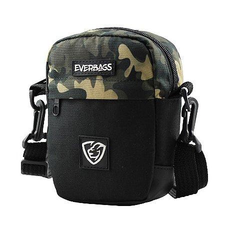Shoulder Bag Necessaire Pochete Combate Preto Camu Everbags