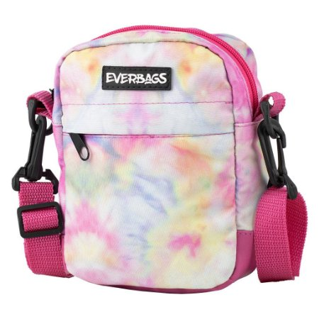 Shoulder Bag Tie Dye Rosa Everbags