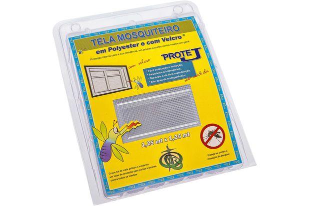 Tela Mosquiteiro Com Velcro - Protej