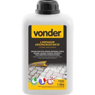 Limpador Desincrustante Biodegradável 1 litro - VONDER