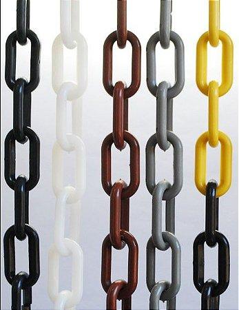 Corrente Plástica PVC 9mm (1 metro) - KTELI