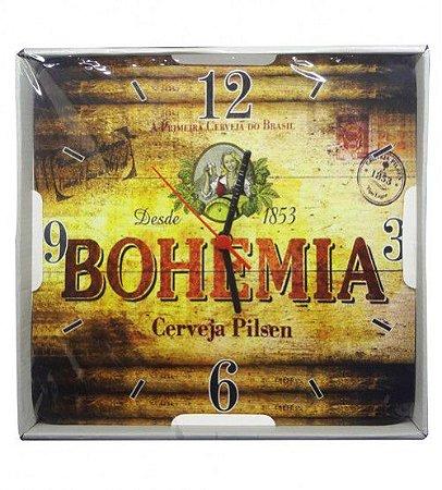 Relógio de Parede Quadrado Bohemia Ref: 5202 - ECOMIX