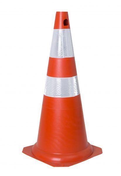 Cone De Sinalização Flexível 75cm / Lj-Br Refletivo - KTELI