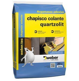 Chapisco Colante 20 Kg - QUARTZOLIT