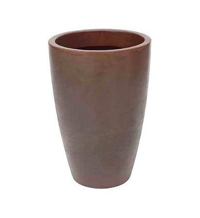 Vaso Malta Cone Rusty 38 X 55 Cm - Vasart