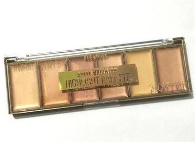 Paleta Iluminador Shine Brighter HB7510 - Ruby Rose