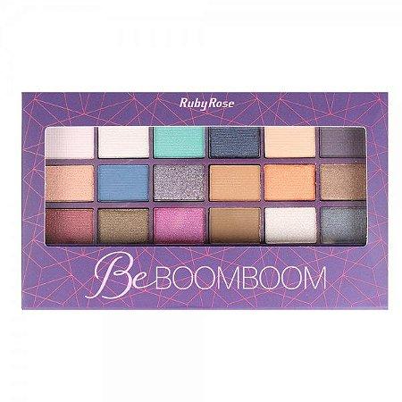Paleta de Sombras Be Boomboom HB9924 - Ruby Rose