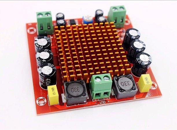 Placa Montada Amplificador Tpa3116da Classe D 150w Rms Mono