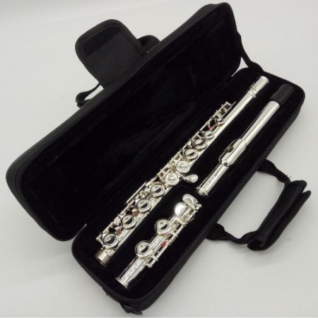 Flauta Transversal Yamaha Yfl-471, Nova, Garantia, Prateada