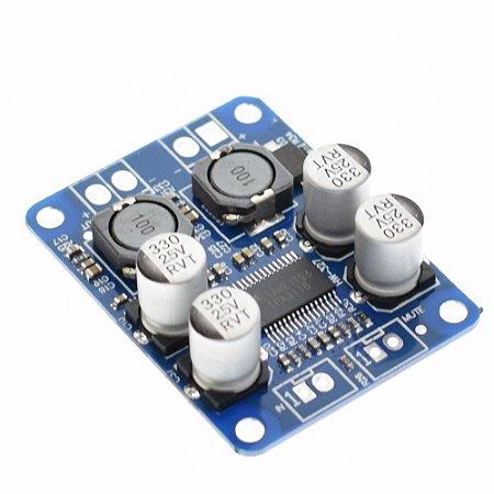 Placa Montada Amplificador Tpa3118 Classe D 60w Rms 10v a 24v - Frete Grátis
