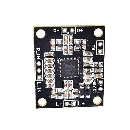 Mini Amplificador Estéreo 2x 15w Pam8610 Classe D - Arduino - Frete Grátis