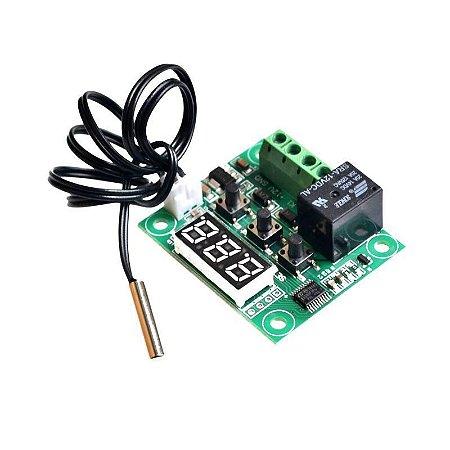 Termostato Digital W1209 Controle De Temperatura Chocadeira - Frete Grátis