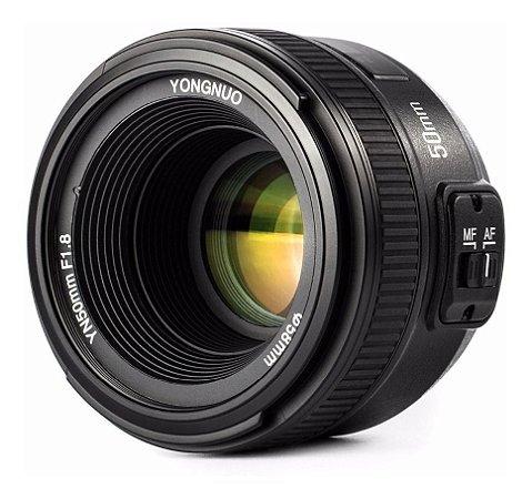 Lente Yongnuo 50mm 1.8 Autofoco, para Nikon
