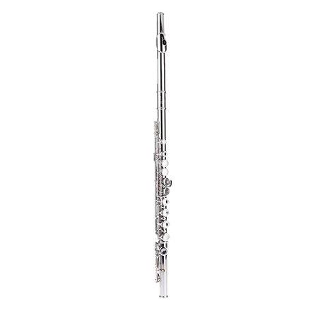 Flauta Transversal Slade By Usa, Nova, Dó, Niquelada