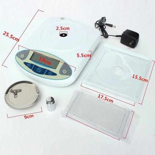 Balança De Precisão Eletrônica Jóias Escala Mini Portátil