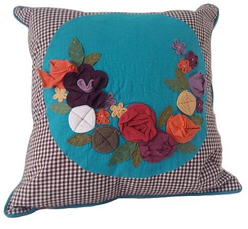 Almofada quadrada - Tema floral