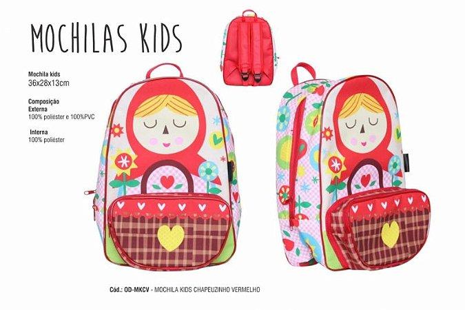 Mochila Kids Chapeúzinho Vermelho