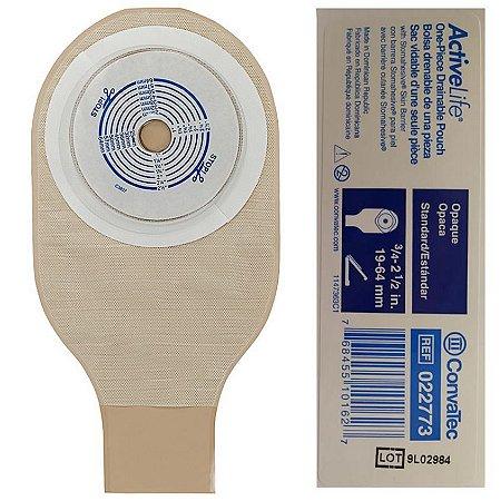 Bolsa de Colostomia Opaca Recortável 19/64mm - Convatec
