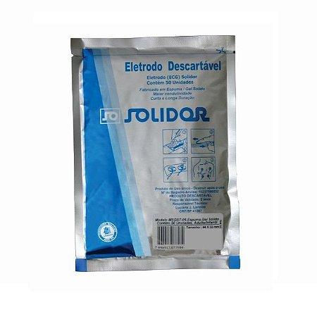 Eletrodo Descartável Adulto/Infantil (50UN) - Solidor