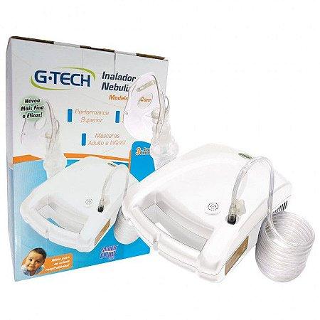 Inalador e Nebulizador NEBCOM V Branco - G-Tech