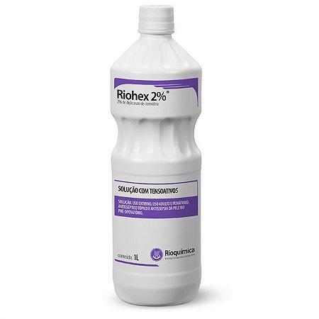 Clorexidina Riohex 2% (1000ml) - Rioquímica