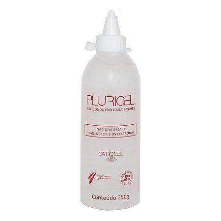 Gel Condutor para Exames Plurigel (250g) - Carbogel