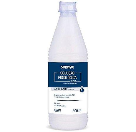 Solução Fisiológica Sorimax (500ml) - Farmax