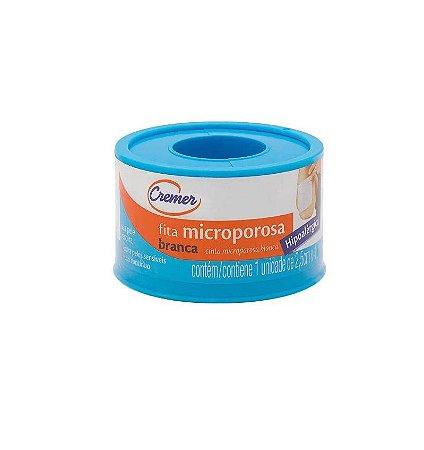 Fita Micropore 2,5cm x 10m - Cremer