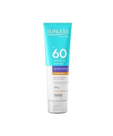 Protetor Solar Sunless FPS 60 (120g) - Farmax
