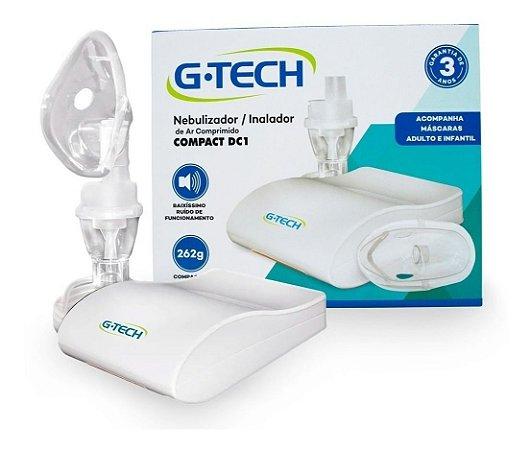 Inalador e Nebulizador Compact DC1 - G-TECH