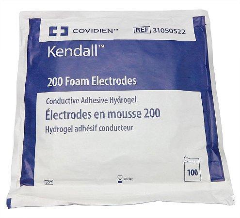 Eletrodo Descartável Para ECG Meditrace Adulto 200 (100UN) - Kendall