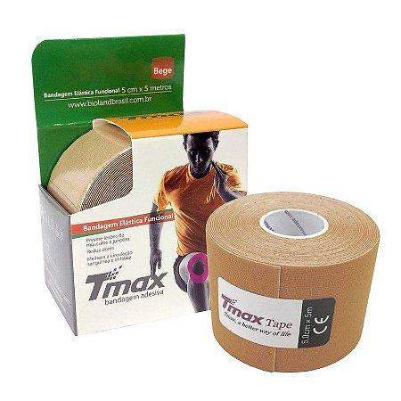 Fita Kinesio Bandagem Adesiva Tmax - Bege