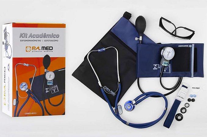 Kit Acadêmico KPA236 Azul - P.A. MED
