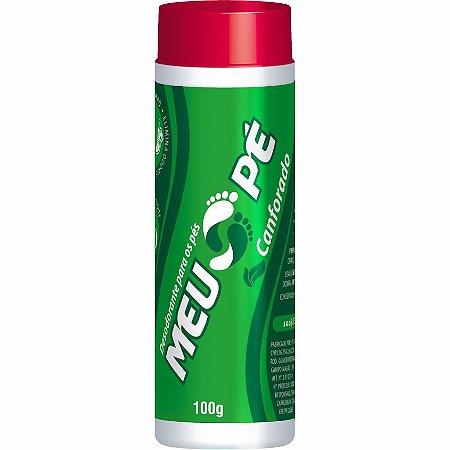Talco Desodorante Para os Pés Meu Pé Canforado 100g - Hygieline
