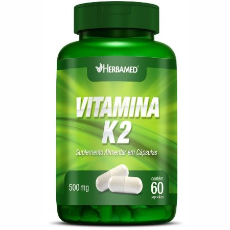 Vitamina K2 500mg (60 Cáps) - Herbamed