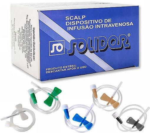 Scalp Estéril Descartável Solidor - 1 Unidade