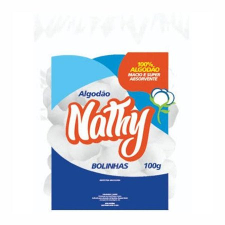 Algodão em Bolas 100g - Nathy